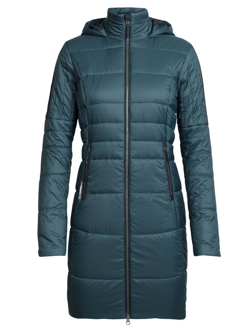 Women's MerinoLOFT Stratus X 3Q Hooded Jacket