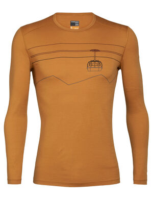 Merino 200 Oasis Long Sleeve Crewe Thermal Top Peak to Peak Lift