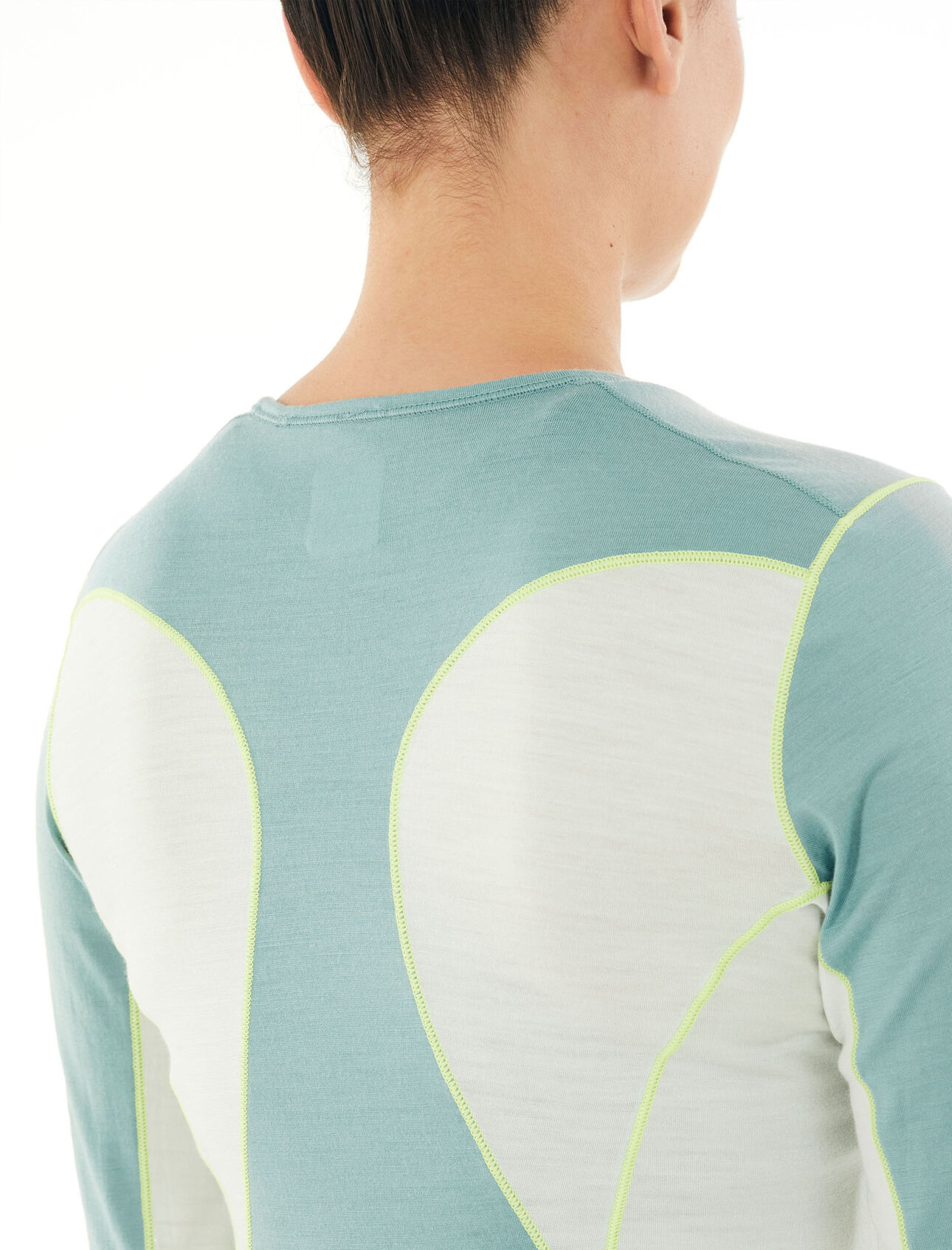 Icebreaker Wmns 200 Oasis LS Crewe Camiseta Interior Mujer