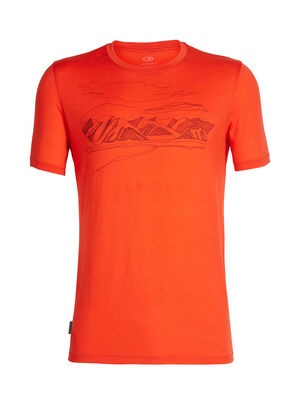 Tech Lite Short Sleeve Crewe Coronet Peak