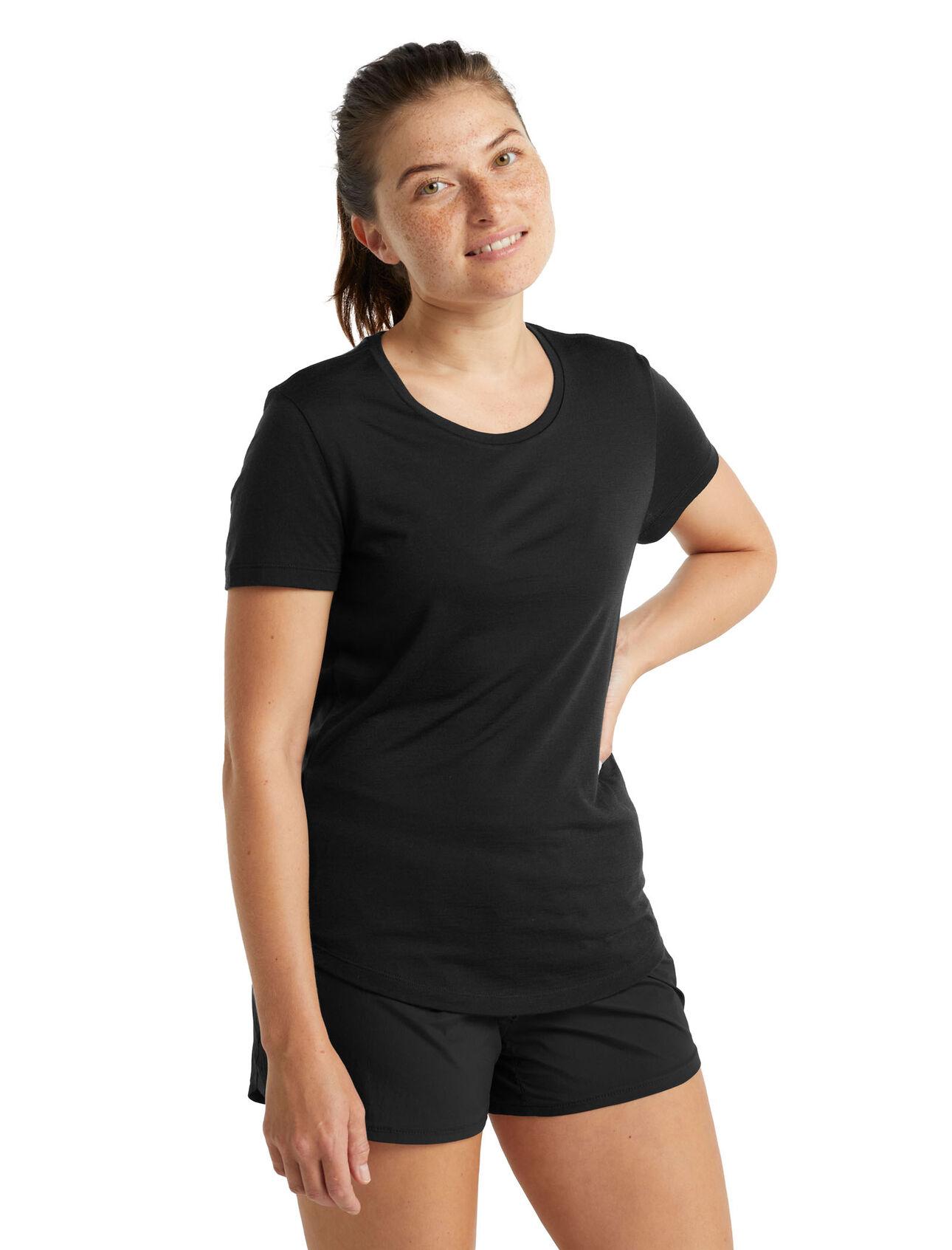 Cool-Lite™ Merino Sphere Short Sleeve Low Crewe T-Shirt