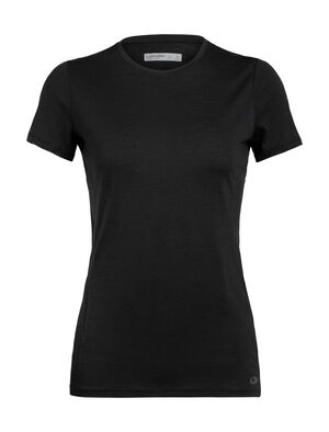 Womens Cool-Lite™ Amplify Short Sleeve Low Crewe An ultralight women's merino wool T-shirt for training in warm to hot conditions, the Amplify Short Sleeve Low Crewe provides soft comfort with unparalleled ventilation.