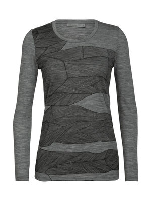 Tech Lite Melt Layers T-shirt met lange mouwen en lage ronde hals