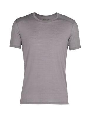 男款 Cool-Lite™美丽诺羊毛Amplify短袖圆领T恤 Amplify短袖圆领上衣采用Cool-Lite™面料,将美丽诺羊毛的天然性能与先进技术相结合,百搭实用,无论是日常跑步锻炼还是登山徒步都适合穿着。