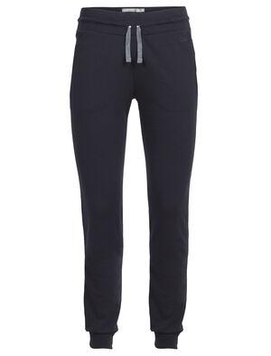 Damen Crush Pants Ultrakomfortable Jogginghose aus Merinowolle, die Crush Hose besteht aus unserem luxuriösen Corespun-Strickstoff mit einem Hauch LYCRA® für Stretch.