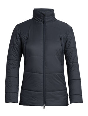 Womens Merino Hyperia Zoned Jacket A toasty and technical jacket that provides lightweight warmth and packability for climbing, skiing and other mountain adventures, the Hyperia Zoned Jacket is an alpine essential with a flattering fit that is made with our MerinoLOFT™ insulation under a shell that sheds wind and light precipitation.