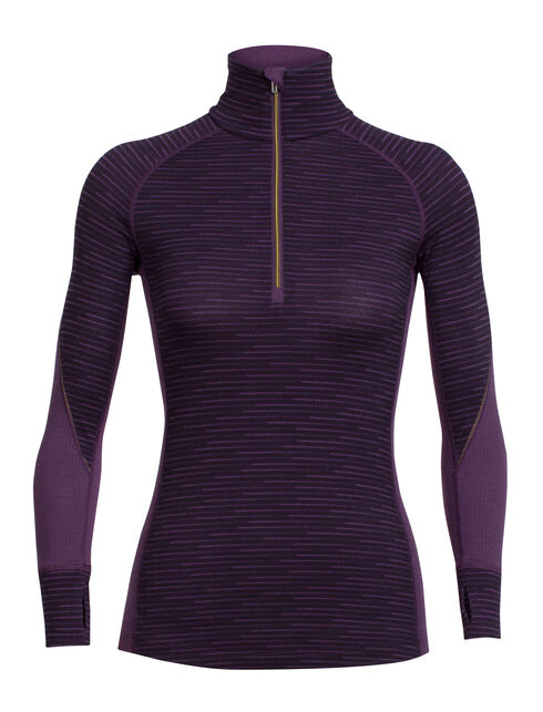 BodyfitZONE™ Winter Zone Long Sleeve Half Zip Couloir