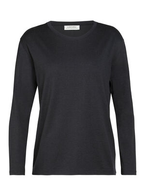 Womens Merino Oasis Long Sleeve Crewe T-Shirt Our versatile, go-anywhere shirt made from breathable 100% merino wool jersey, the Oasis Long Sleeve Crewe embodies everyday comfort. Part of our 旅 TABI collection, a collaboration with Japanese apparel house GOLDWIN.