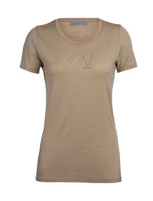 天然印染美丽诺羊毛Tech Lite短袖中低圆领T恤(Anniversary XXV)