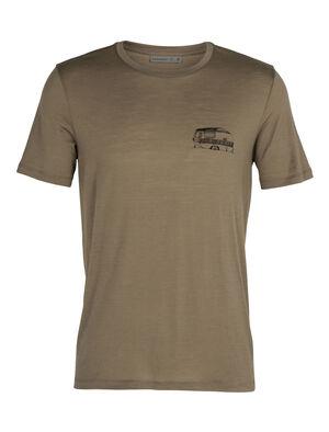 T-shirt manches courtes col rond mérinos Tech Lite Caravan Life