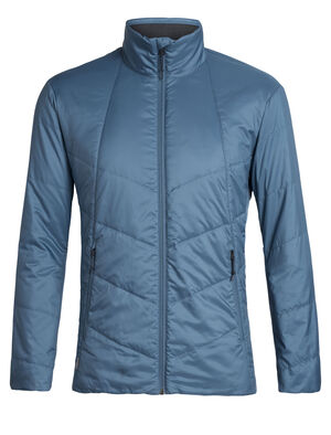 Mens MerinoLOFT™ Helix Jacket An insulated men's puffy jacket made with 70gm MerinoLOFT™ insulation, 100% woven merino lining, and PFC-free recycled materials, the Helix Jacket is a winter mid layer for everyday versatility that sheds light precipitation and keeps you warm.