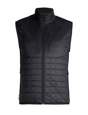 Mens MerinoLOFT™ Helix Vest Designed as active alpine insulation for cold, high-output days of skiing, climbing, snowshoeing or hiking, the Men's Helix Vest combines sustainable materials with a technical design.