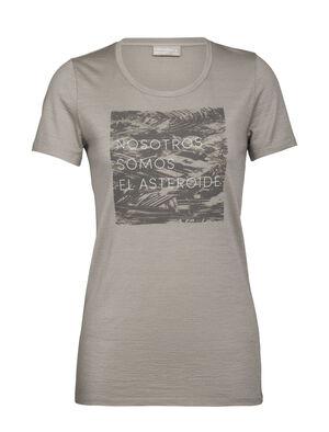 Nature Dye Merino 200 Short Sleeve Crewe T-Shirt Asteroid Spanish