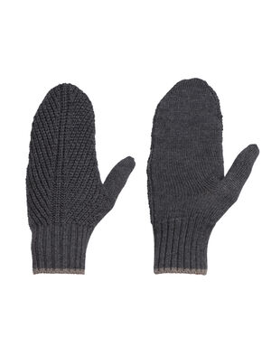 Unisex Merino Waypoint Mittens  Classic knit mittens made with soft, warm, and breathable 100% merino wool, the Waypoint Mittens are an everyday cold-weather essential.