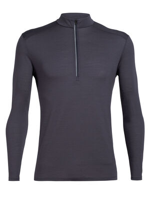 Mens Cool-Lite™ Merino Amplify Long Sleeve Half Zip Top A technical top that harnesses the natural performance of merino, the Amplify Long Sleeve Half Zip is ready for everything, from daily runs to mountain hikes, thanks to our Cool-Lite™ fabric.
