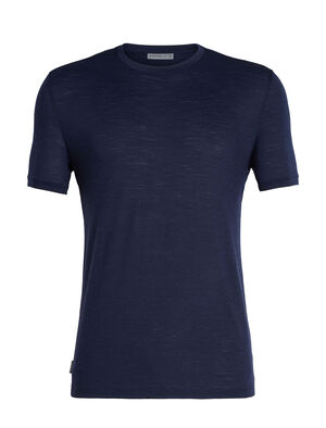 Mens Merino Spector Short Sleeve Crewe T-Shirt A lightweight mens merino wool crew neck T-shirt ideal for everything from hiking to travel, the Spector Short Sleeve Crewe is a go-to everyday shirt.
