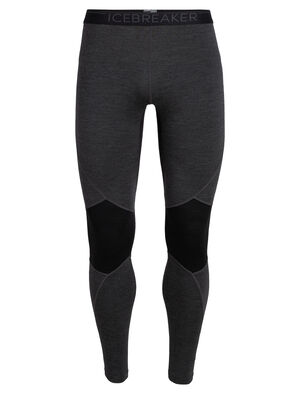 Mens BodyfitZone™ Merino 260 Zone Thermal Leggings Technical, cold-weather base layer bottoms for highly aerobic days, the 260 Zone Leggings feature zoned ventilation panels for active temperature regulation and ample breathability.