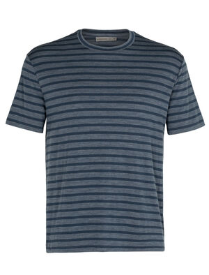 Mens Cool-Lite™ Merino Utility Explore Short Sleeve Crewe Stripe T-Shirt A soft, comfortable and breathable merino T-shirt perfect for everyday adventures, the Utility Explore Short Sleeve Crewe Stripe is made with our Cool-Lite™ fabric in a relaxed fit.