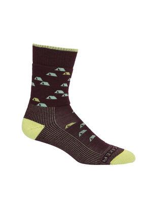 Femme Merino Hike Medium Crew Socks Camping Outdoors Chaussettes de sentier légères, robustes et résistantes aux odeurs offrant un maximum de confort et un ajustement de qualité, nos mi-chaussettes de randonnée Camping Outdoors moyennes sont parfaites pour les jours de randonnée, peu importe les conditions.