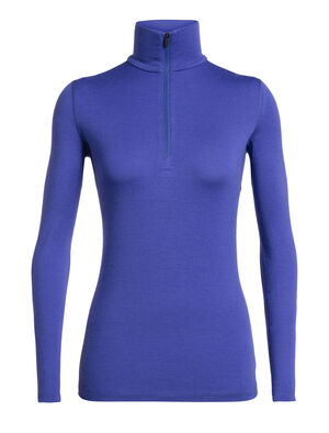 Womens Merino 260 Tech Long Sleeve Half Zip Thermal Top A warmer, midweight version of our best-selling Oasis, the 260 Tech Long Sleeve Half Zip is a go-to piece for winter layering, made with 100% merino wool.