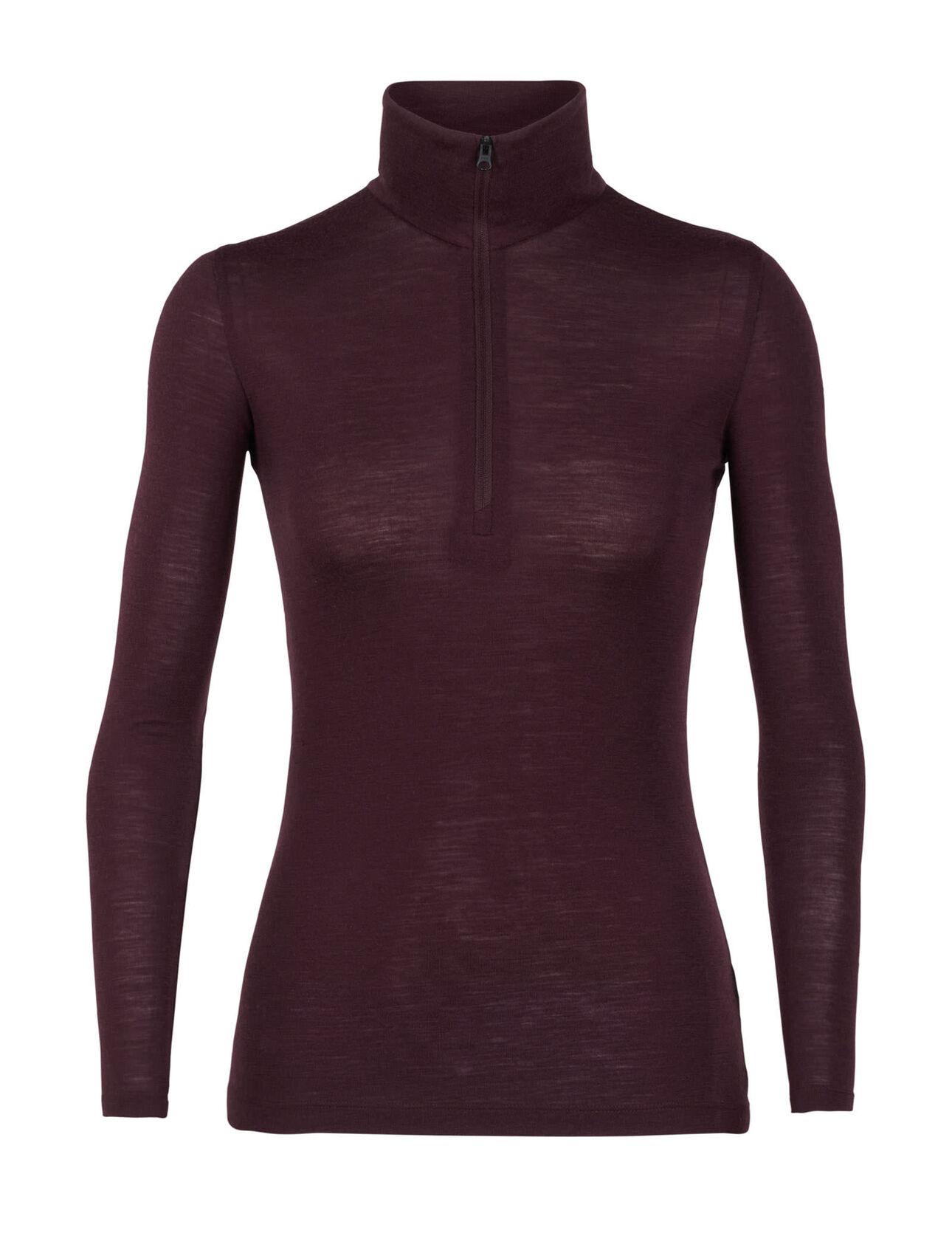 Merino 175 Everyday Long Sleeve Half Zip Damen ICEBREAKER 175 g//m² Merino