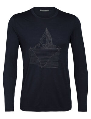 Merino Tech Lite Long Sleeve Crewe T-Shirt Oneberg