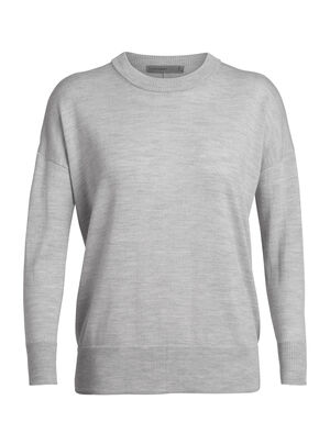 Womens Merino Shearer Crewe Sweater  A sleek, stylish, and super-comfortable women's merino wool sweater made with super-fine knit merino, the Shearer Crewe Sweater is designed for daily comfort.