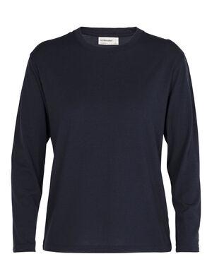 Merino 150 langärmliges T-Shirt mit Rundhalsausschnitt