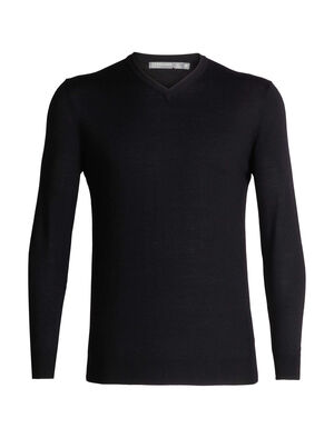 Mens Shearer V Sweater A lightweight knit sweater made with 100% pure merino wool for the ultimate in casual comfort, the Shearer V Sweater is a sure bet for warmth, breathability and odor resistance any day of the week.