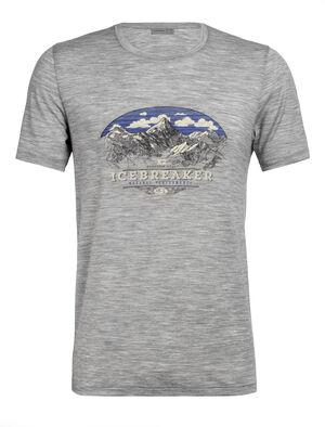美丽诺羊毛Tech Lite短袖圆领T恤(K2 Crest)