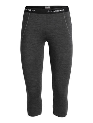 Womens BodyFitZone™ Merino 260 Zone 3/4 Thermal Leggings Technical, cold-weather base layer bottoms for highly aerobic days, the 260 Zone Legless feature zoned ventilation panels for active temperature regulation and ample breathability.