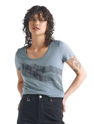 T-shirt manches courtes encolure dégagée mérinos Tech Lite St Anton