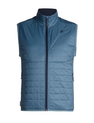 男款 MerinoLOFT™ Helix马甲 男款Helix马甲是一款专为高山运动而设计的保暖衣,选用环保型面料和先进的技术设计,适合在冷天进行高强度运动时穿着,比如滑雪、登山、雪地健行或远足。正身部分采用MerinoLOFT™保暖技术,温暖透气,是合成保暖衣的天然替代品。100%再生涤纶布面,配以DWR持久防水,可防小雨。侧面拼接料选用富有弹性的美丽诺羊毛平纹针织面料,帮助运动时调节身体温度。100%美丽诺羊毛梭织衬里确保温暖舒适。拉链插手口袋和胸兜,方便放入小件随身物品,比如唇膏、零食和手机。