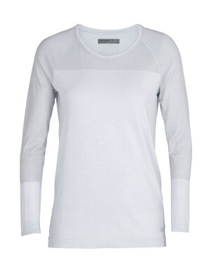 Womens Cool-Lite™ Merino Motion Seamless Long Sleeve Crewe T-Shirt  A lightweight and technical training base layer for year-round performance, the Motion Seamless Long Sleeve Crewe is stretchy, moisture-wicking, and incredibly breathable.