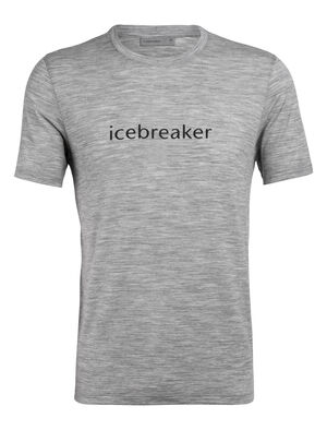 Mens Tech Lite Short Sleeve Crewe Icebreaker Wordmark Our most versatile men's merino wool tech tee, the Tech Lite Short Sleeve Crewe icebreaker Wordmark provides stretch, comfort, breathability and odor-resistance for just about any adventure you can think of.
