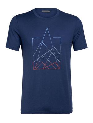 美丽诺羊毛Tech Lite短袖圆领T恤(7 Pinnacles)