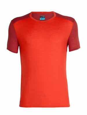 男款 Cool-Lite™ Amplify短袖圆领上衣 Amplify男款短袖圆领上衣是一款格外轻薄的美丽诺羊毛T恤,将柔软舒适的穿着感和出众的透气性能相结合,适合在暖和或炎热的环境中训练时穿着。