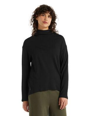 Merino Deice Long Sleeve Turtleneck Top