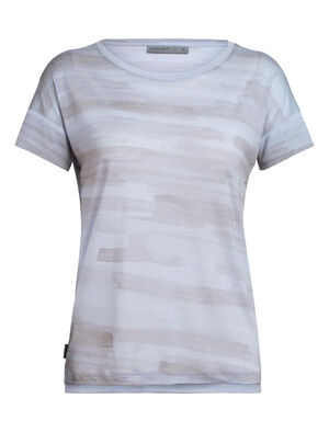 Womens Cool-Lite™ Merino Via Short Sleeve Scoop Neck T-Shirt An ultra-comfortable everyday women's merino wool top featuring our Cool-Lite fabric, the Via Scoop Short Sleeve has a relaxed fit and dropped Dolman sleeves.