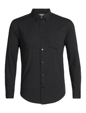 Cool-Lite™美丽诺羊毛Steveston长袖法兰绒衬衫