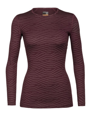 Womens Merino 200 Oasis Long Sleeve Crewe Thermal Top Napasoq Lines Our versatile, go-anywhere shirt made from breathable 100% merino wool jersey, the 200 Oasis Long Sleeve Crewe Napasoq Lines is our best-selling base layer top.