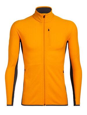 男款 RealFleece™ Descender长袖拉链上衣 Descender长袖拉链上衣是一款蕴含先进技术的中层衣,以我们的美丽诺羊毛RealFleece™面料制成,具有出众的保暖性和透气度,专为冷天进行户外有氧运动而设计。