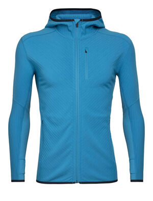 RealFleece® Merino Descender Long Sleeve Zip Hood Jacket
