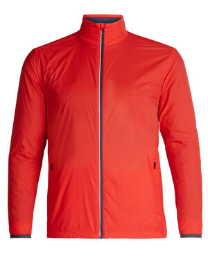 Mens Cool-Lite™ Incline Windbreaker A technical men's windbreaker featuring a merino wool lining for breathability and technical performance, the Incline Windbreaker is a weather-resistant jacket that's ideal for running, biking and training.
