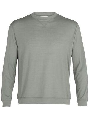 Mens Merino 150 Long Sleeve Pullover A classic lightweight top made with our soft and durable jersey corespun fabric, the 150 Long Sleeve Pullover combines the sweatshirt style you love with the natural benefits of merino.