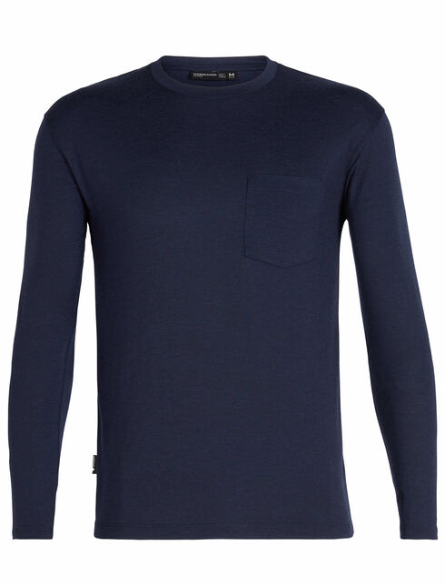 旅 TABI Tech Lite Long Sleeve Pocket Crewe