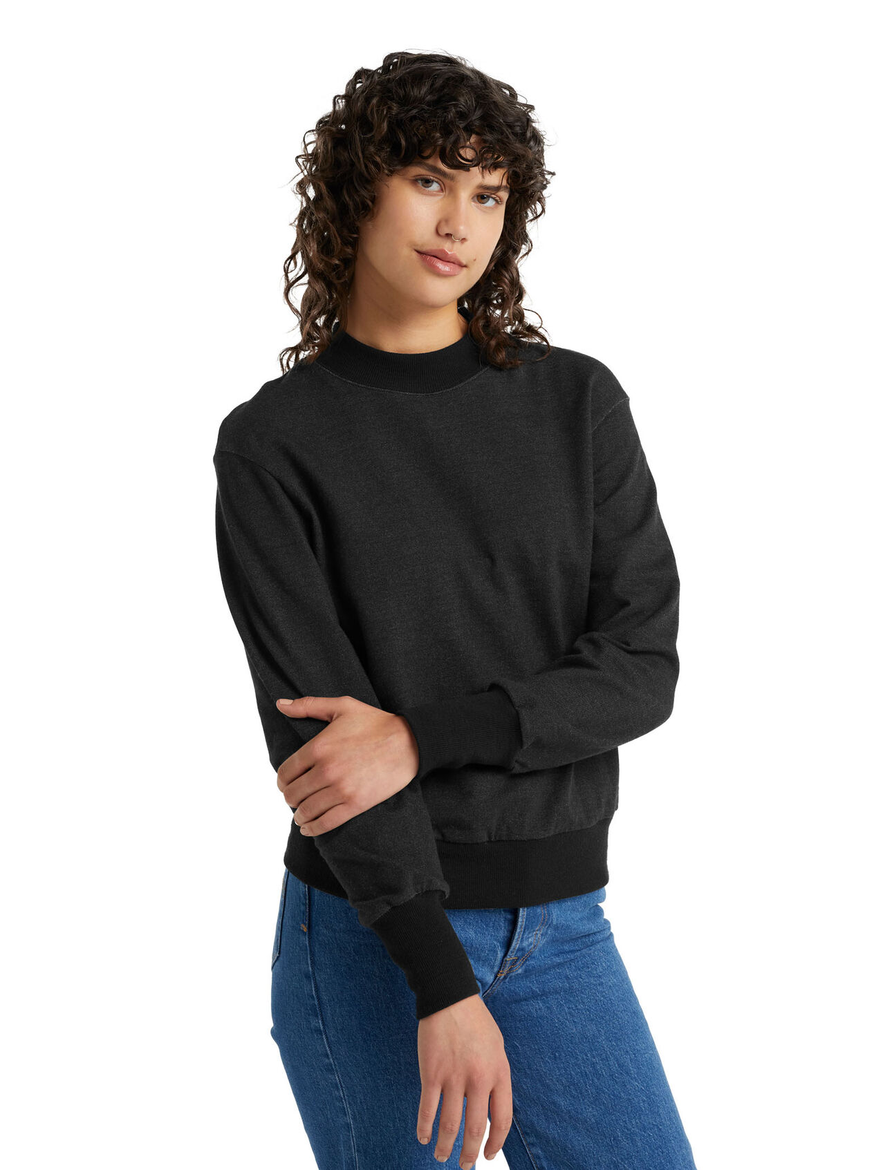Merino Central Long Sleeve Sweatshirt