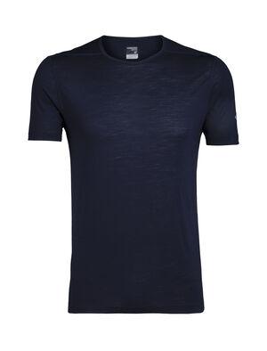 男款 Zeal短袖圆领上衣 Zeal短袖圆领上衣是一款美丽诺羊毛男款打底T恤,涤纶混纺可有效吸湿排汗,增强快干性能,是户外探险或温暖天气下旅行的必备打底单品。