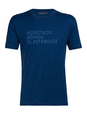 Nature Dye Merino Tech Lite Short Sleeve Crewe T-Shirt Asteroid Spanish