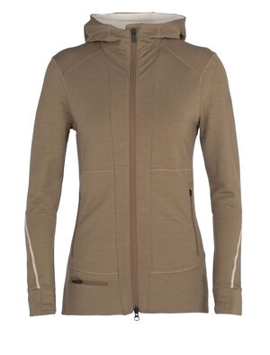 Merino Quantum II Long Sleeve Zip Hood Jacket